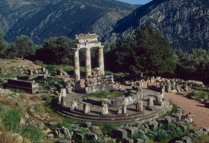 Oracle's Temple at Delphi