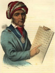 Sequoia & the Cherokee Syllabary
