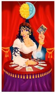 Gypsy Tarot Reader by DeuceOhNegative