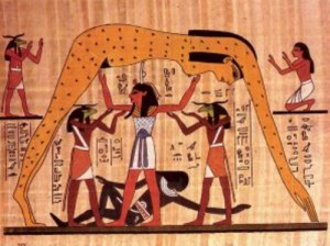 Geb and Nut of Egypt