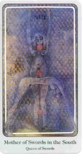 Haindl Tarot Mother of Swords