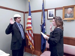 http://www.nydailynews.com/news/politics/pastafarian-politician-takes-oath-office-wearing-colander-head-article-1.1568877