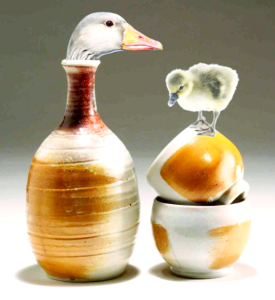 goose in bottle