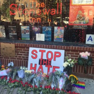 Stop The Hate Orlando Stonewall Inn 2016